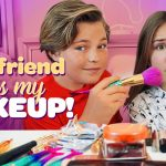 BOYFRIEND does my MAKEUP CHALLENGE (FUNNY) 💕💋| Piper Rockelle