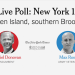 Midterm Election Poll: New York's 11th District, Donovan vs. Rose