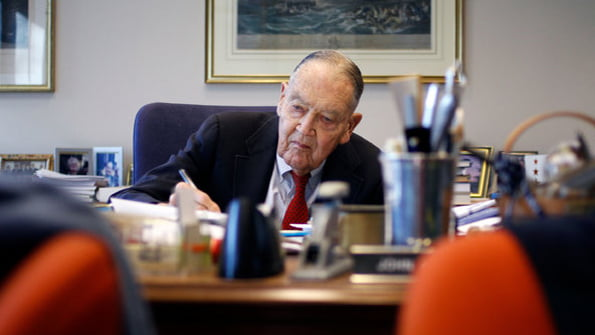 Bogle Inspired Stein's Betterment, but They Had Disagreements
