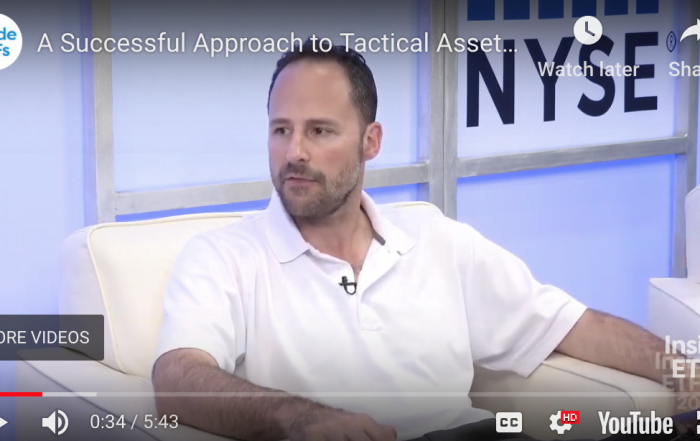 A Successful Approach to Tactical Asset Allocation