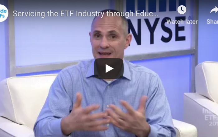 Servicing the ETF Industry through Education
