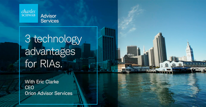 3 technology advantages for RIAs