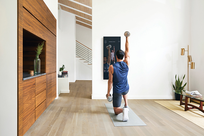 Mirror is the first-ever immersive in-home connected fitness sytem, a perfect gadget to own