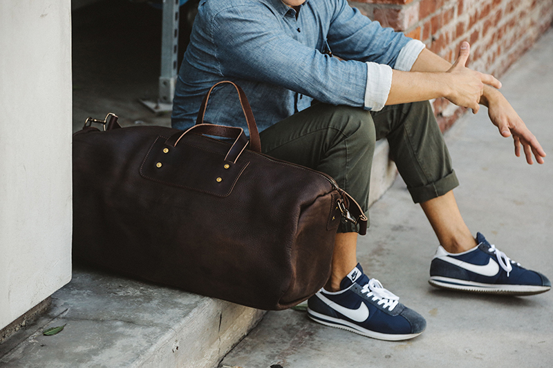 Expedition Leather Duffle Bag as a Father's Day Gift