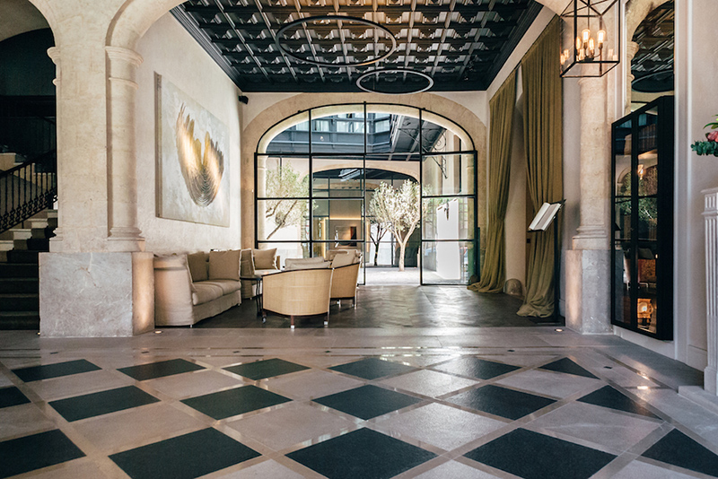 Sant Francesc Hotel Singular is one of the Hotels with Art collection
