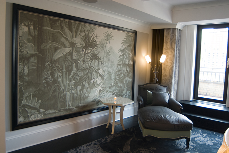 The Surrey Hotel is one of the Hotels with Art collection