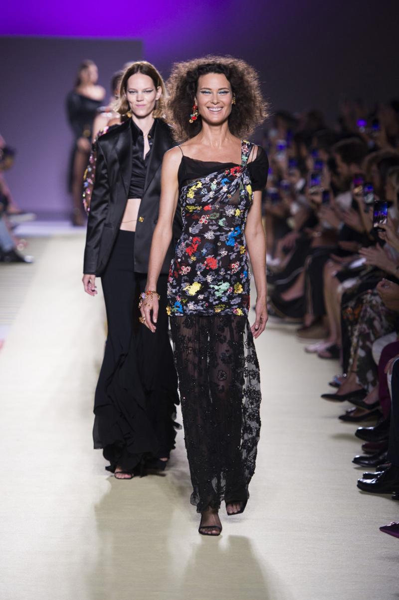Versace's Spring 2019 Collection at Milan Fashion Week