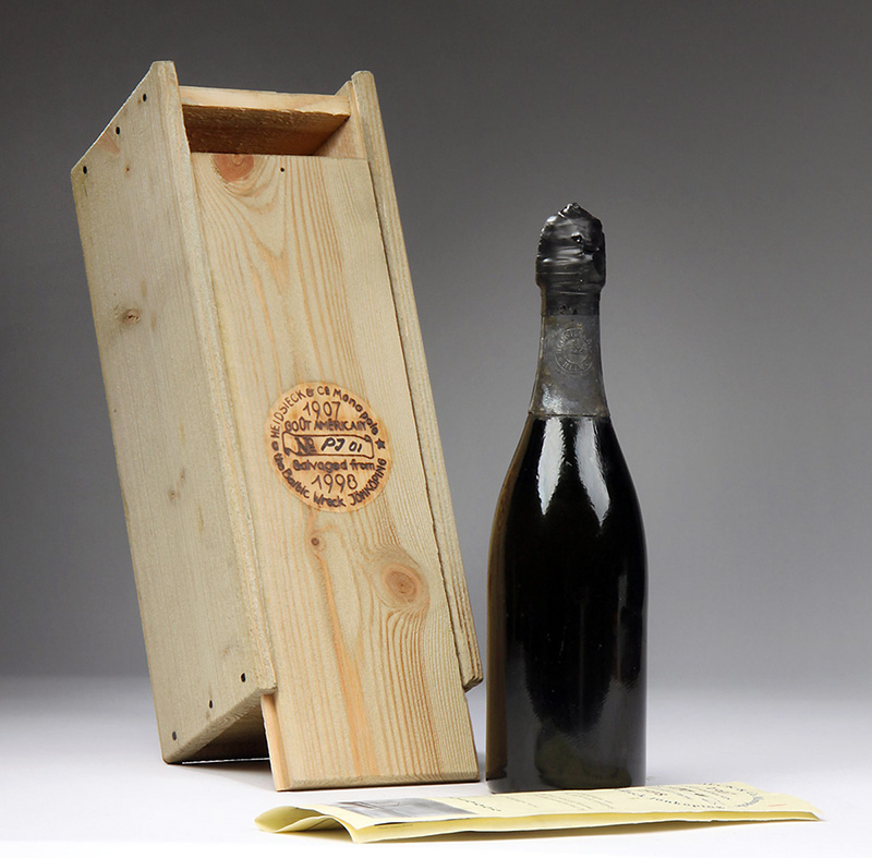 Heidsieck 1907 wine is one of the most expensive wines in the world