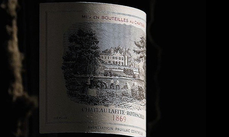 Chateau Lafite-Rothschild 1869 is one of the most expensive wines in the world