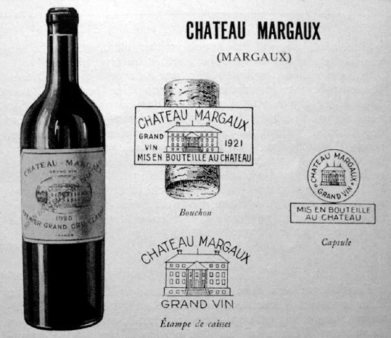 Chateau Margaux 1787 wine is one of the most expensive wines in the world