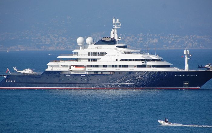 Late Billionaire Paul Allen's Yacht on Sale for $326 Million