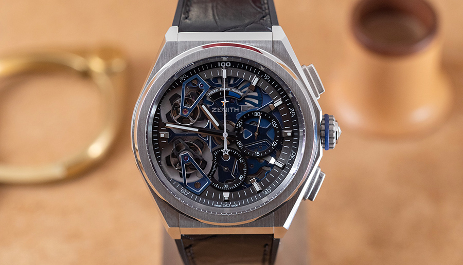 Zenith Defy Double Tourbillon men watch