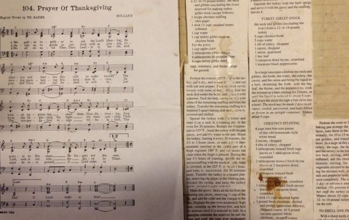 The Thanksgiving Traditionalists