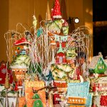 Extravagant 8-foot Tall Gingerbread Village at Pelican Hill
