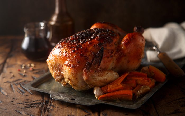 Roast Goose/Hen recipe, a Perfect Serving for the Holidays