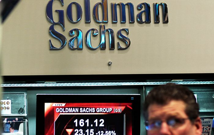 Goldman Reveals It's Still a Small Player in Pursuit of Rich