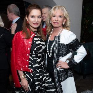 Philanthropist Jean Shafiroff Hosted Annual Holiday Luncheon In Honor of The New York Women's Foundation