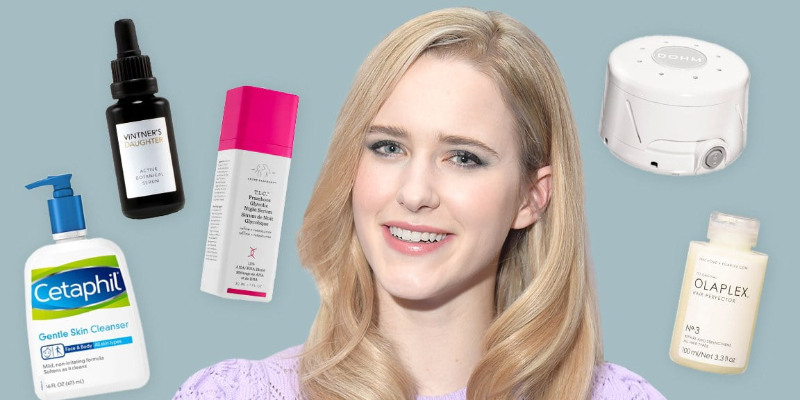 Rachel Brosnahan on Her Favorite Nighttime Products