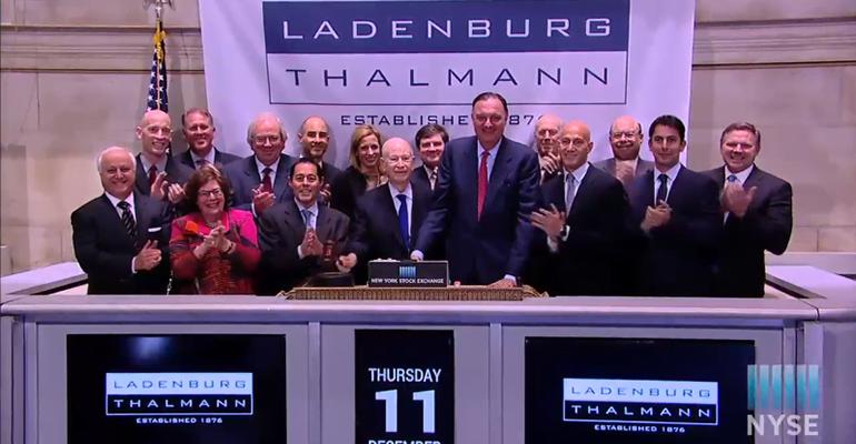 Ladenburg Shareholders Approve Advisor Group Merger