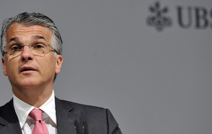 UBS Has Begun Search for a Successor to CEO Sergio Ermotti