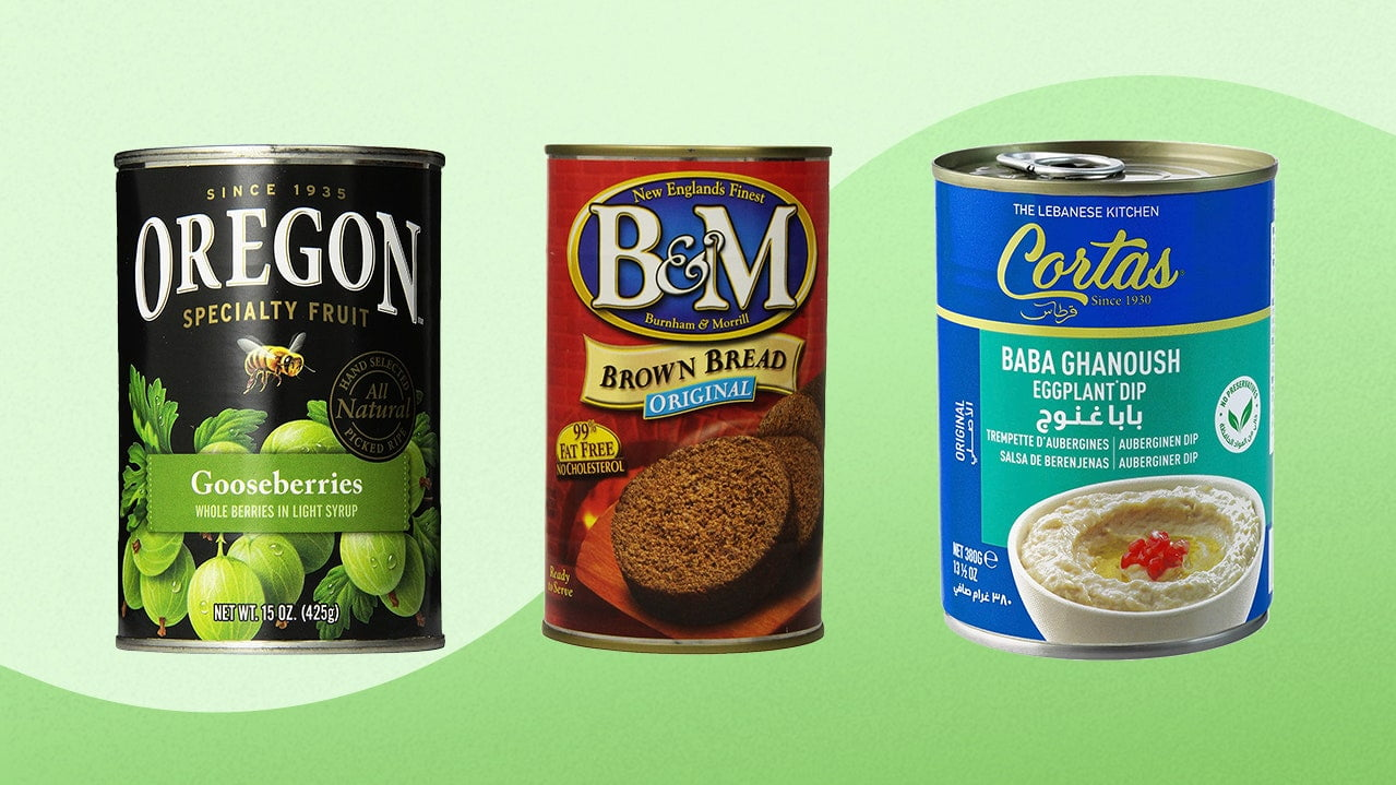 Unusual Canned Food: 15 Foods You Didn't Know Come In Cans