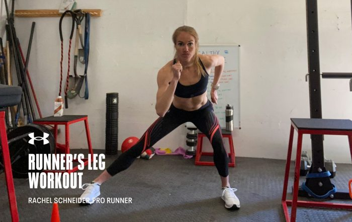 Runner's Leg Workout with Rachel Schneider