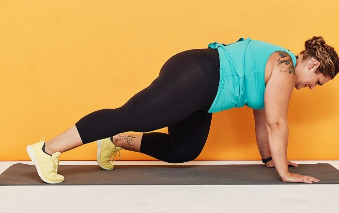 Team SELF Challenge Day 27: Plank and Lunge Cardio Workout