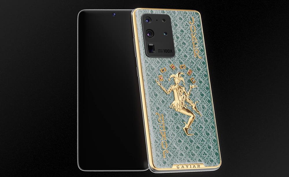 The Caviar Samsung Galaxy S20 Fortune Gold Joker
