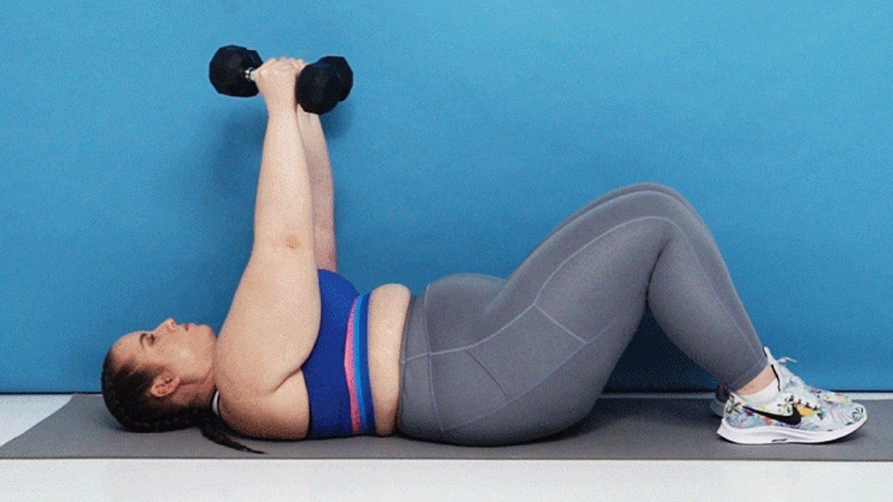 The Dumbbell Chest Workout That Will Also Smoke Your Abs