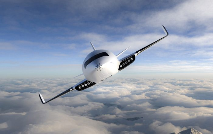 The Eather One Electric Aircraft designed by Michal Bonikowski