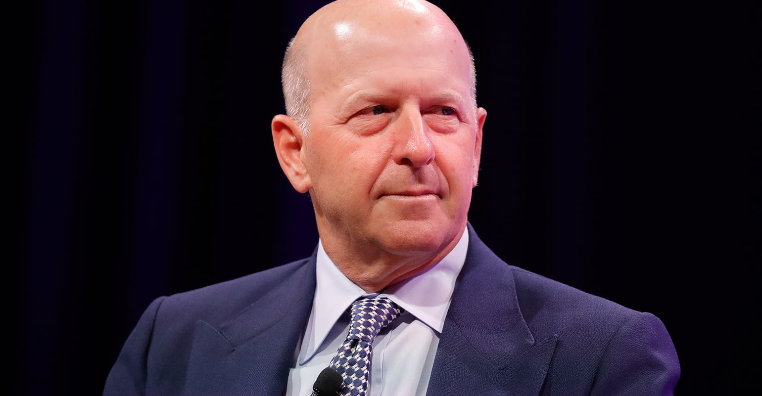 Goldman Sachs CEO Spotted At Exclusive Zoom Party