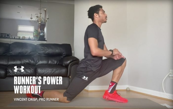 Runner's Power Workout with Vincent Crisp