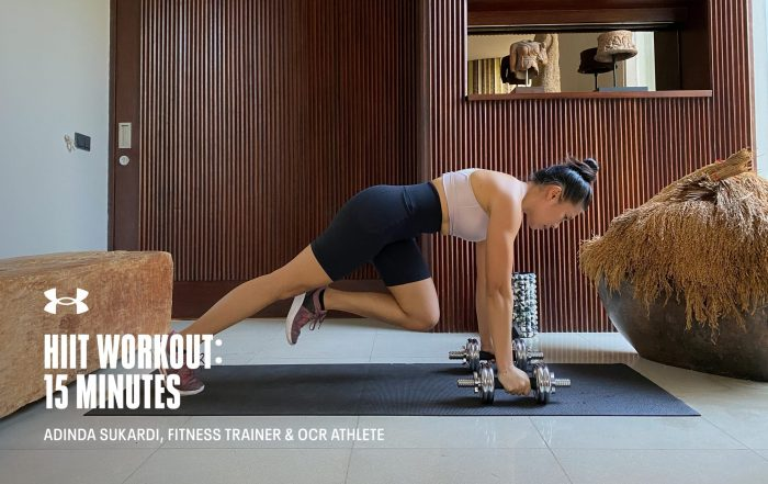 15 Minute HIIT Workout with Adinda Sukardi