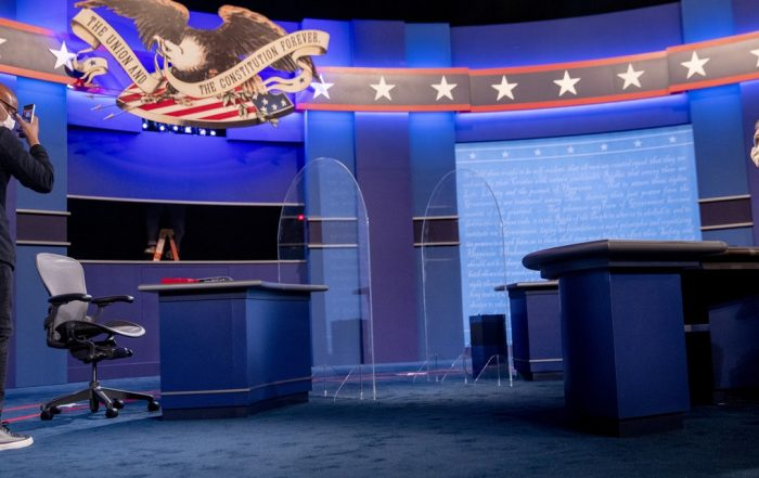 That Plexiglass at Tonight's V.P. Debate Won't Do Much to Stop COVID-19, Experts Say