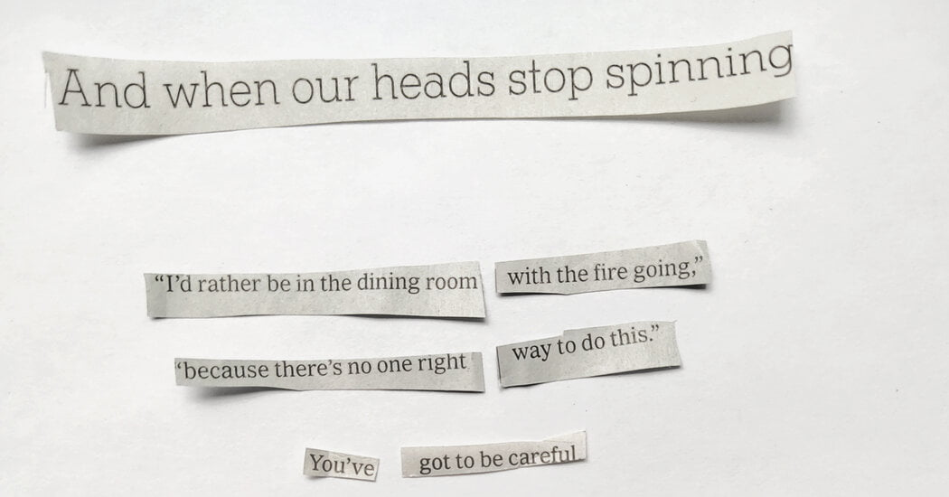 Make a Poem From Newspaper