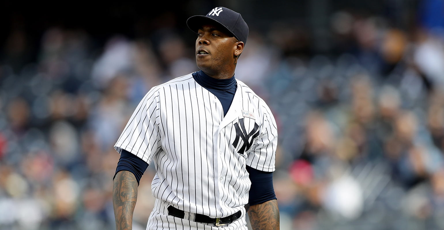 New York Yankees Pitcher Aroldis Chapman Sues His Former Advisor