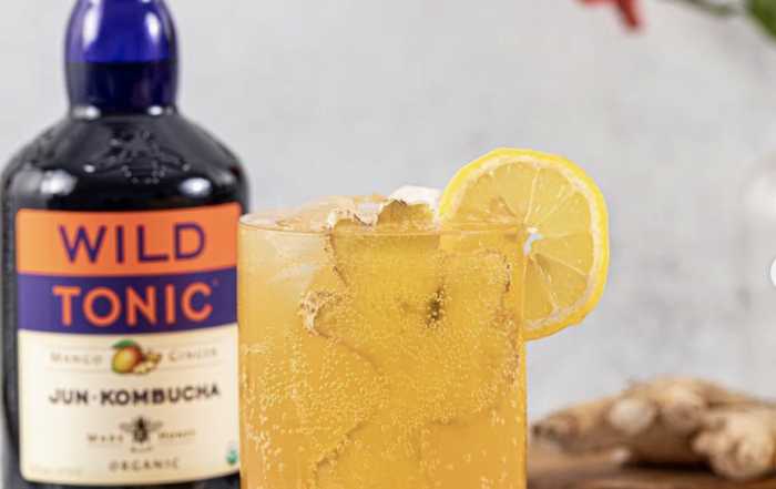 Let's Toast To The Holidays: Holiday Cocktail Ideas Featuring A Delicious Kombucha! Plus, A New Year's Champagne Alternative!