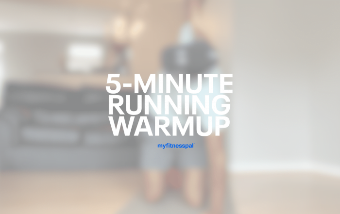 5-Minute Running Warmup