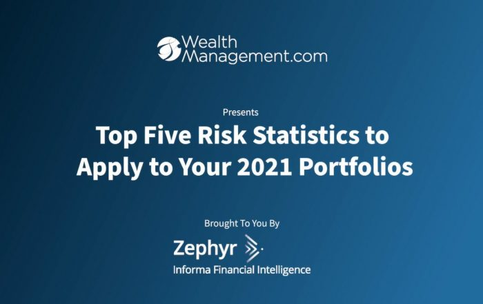 FastChat Video: Top Five Risk Statistics to Apply to your 2021 Portfolios