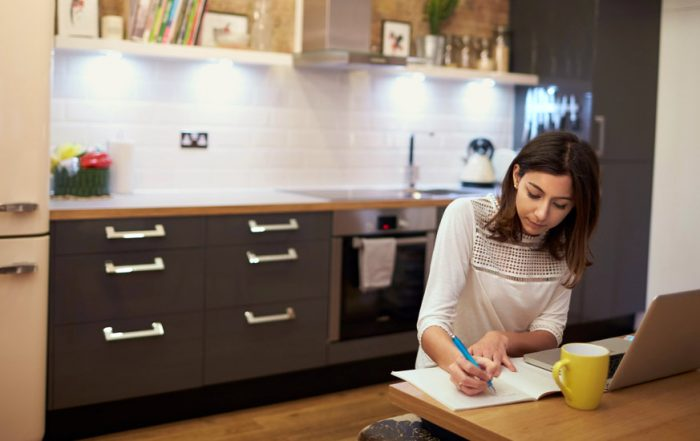 Making Time and Space for All You Need to Do at Home