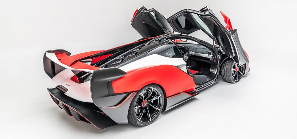 McLaren Sabre is a limited edition supercar only for the US