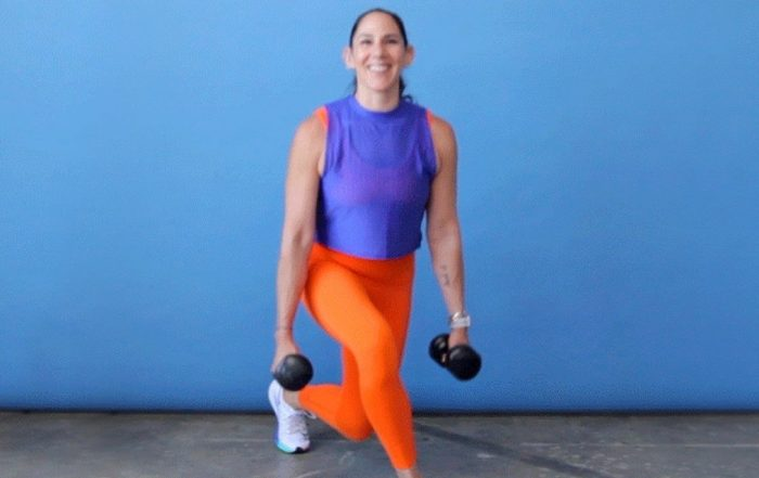 A Lower Body Dumbbell Workout to Fire Up Your Butt and Legs