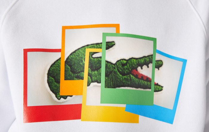 The New Lacoste X Polaroid Collection