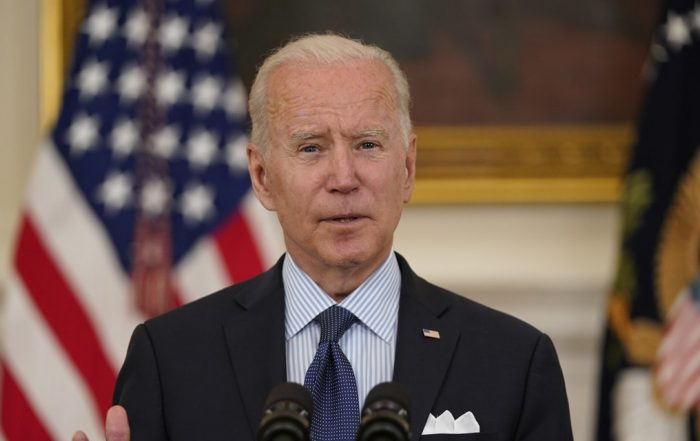Biden Now Aims to Vaccinate 70% of Adults in the U.S. By the Fourth of July