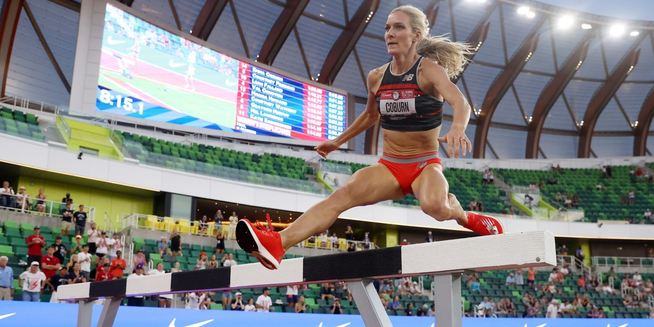 Emma Coburn Wins Ninth U.S. Steeplechase Title to Make Her Third Olympic Team