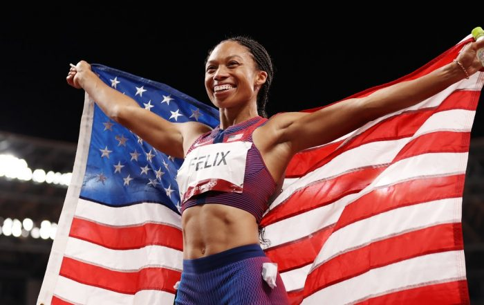 Allyson Felix Is Now the Most Decorated American Olympic Track and Field Athlete Ever