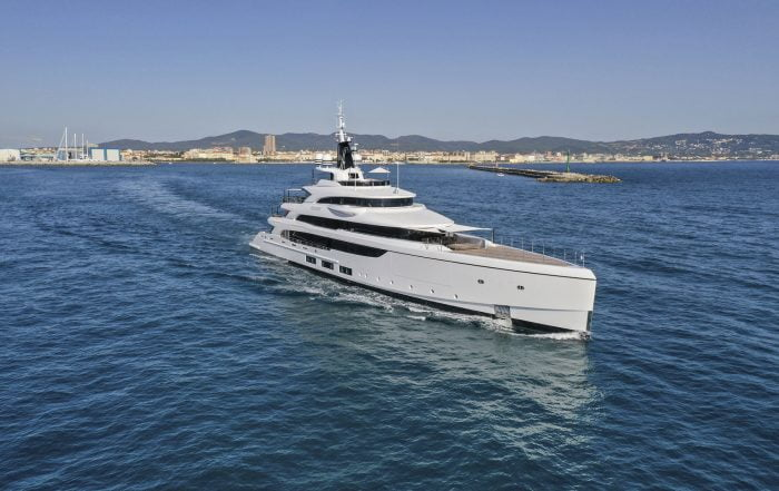 """Benetti Delivers M/Y """"Triumph""""- a 65-Meter Full Custom Yacht"""