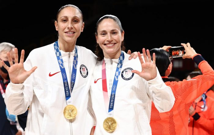 Diana Taurasi and Sue Bird Are Now the Only Basketball Players Ever to Win 5 Olympic Golds